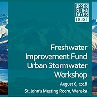 FIF Urban Stormwater Workshop
